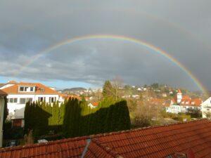 Regenbogen über Bad Schachen